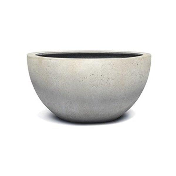 Low Egg pot S Concrete Ø 33