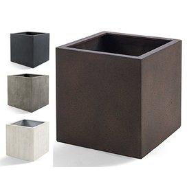Fleur.nl - Cube XL Concrete Ø 60