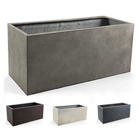 Fleur.nl - Box M Concrete Ø 81