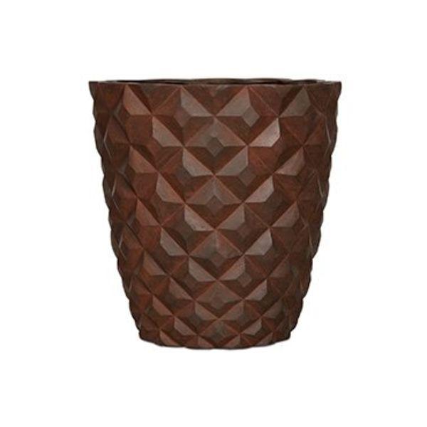 Capi Lux Heraldry Vase Tapered Round Outdoor Ø 38