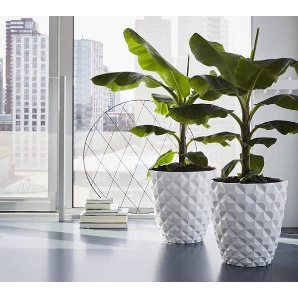Capi Lux Heraldry Vase Tapered Round Outdoor Ø 51