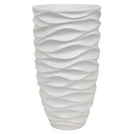Fleur.nl - Luxe Lite Glossy sea white Ø 33 cm