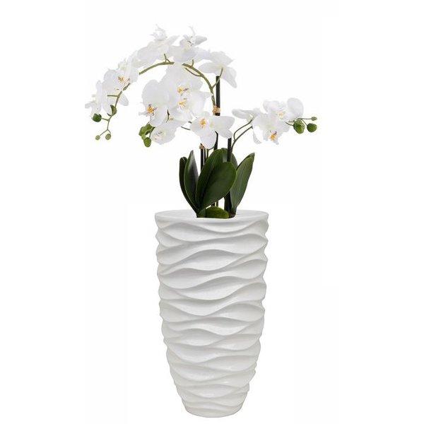 Luxe Lite Glossy sea white Ø 33 cm