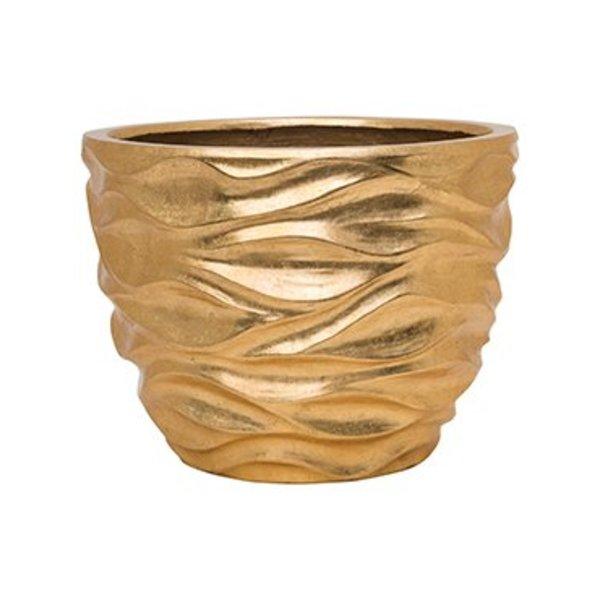 Baq Luxe Lite Glossy sea gold/silver Ø 40 cm