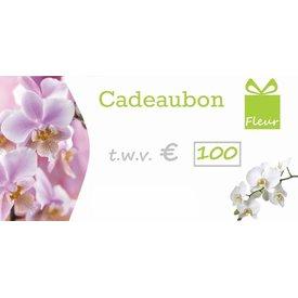 Fleur.nl - CadeauCard 100 euro