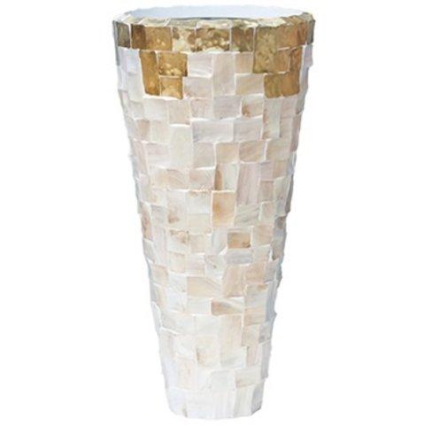 Oceana Partner Yellow Copper/Pearl White Ø 44 cm
