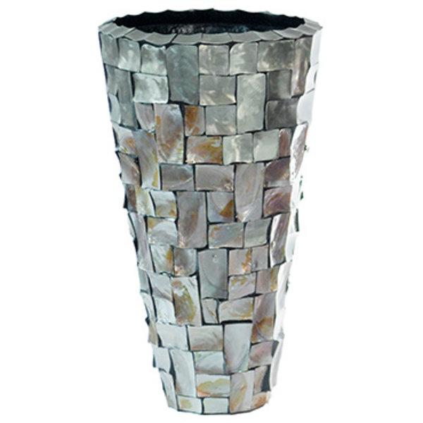 Baq Oceana Partner Steenless Steel/Pearl Brown Ø 36 cm
