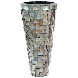 Fleur.nl -Baq Oceana Partner Steenless Steel/Pearl Brown Ø 44 cm