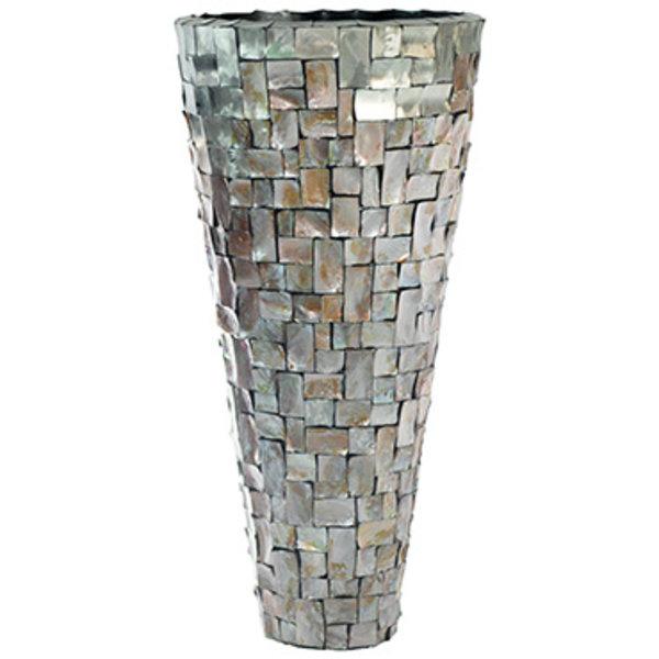 Baq Oceana Partner Steenless Steel/Pearl Brown Ø 54 cm