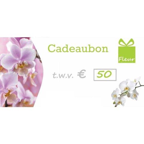 CadeauCard 50 euro