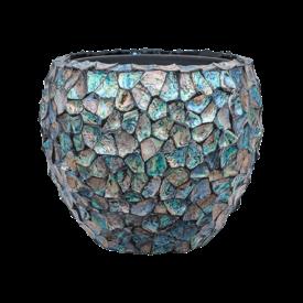 Fleur.nl -Baq Oceana Tropic Dark Blue Ø 50 cm (+ inzetbak)