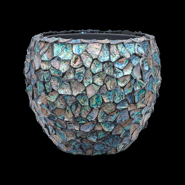 Baq Oceana Tropic Dark Blue Ø 50 cm (+ inzetbak)
