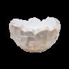 Oceana Pearl Beach White/ Brown Steel Ø 40 cm