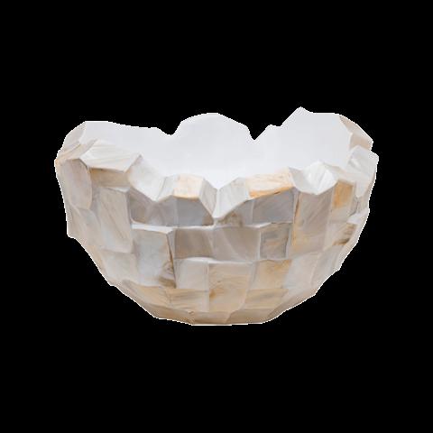 Oceana Pearl Beach White/Steel Brown Ø 40 cm