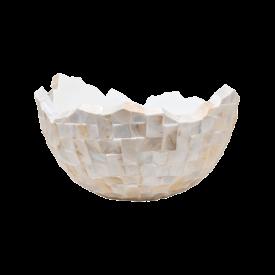 Fleur.nl -Baq Oceana Pearl Beach White/Steel Brown Ø 70 cm