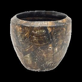 Fleur.nl -Baq Oceana Cracked Oyster Shell Ø 17 cm