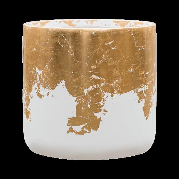 Baq Luxe Lite Glossy Gold/Silver Ø 33 cm  medium