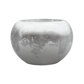 Fleur.nl -Baq Luxe Lite Glossy Globe Gold/Silver Ø 39 cm