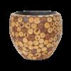 Wood round Ø 42 cm (+ inzetbak) - medium