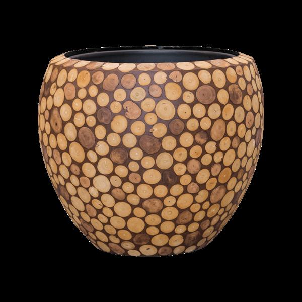 Baq Wood round Ø 50 cm (+ inzetbak) - large