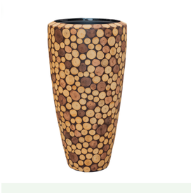 Fleur.nl -Baq Wood round 70 cm
