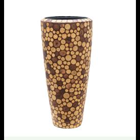 Fleur.nl -Baq Wood round 90 cm (+ inzetbak)