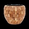 Wood block Ø 42 cm (+ inzetbak) - medium