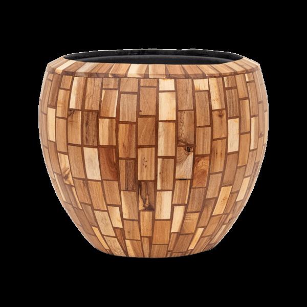 Baq Wood block Ø 42 cm (+ inzetbak) - medium