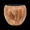 Wood block Ø 50 cm (+ inzetbak) - large