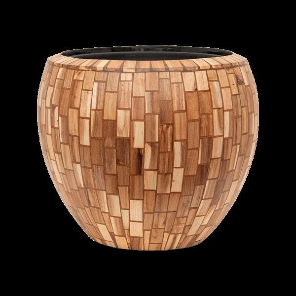Baq Wood block Ø 50 cm (+ inzetbak) - large