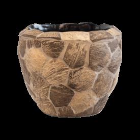Fleur.nl -Baq Wood Out Piece Ø 17 cm