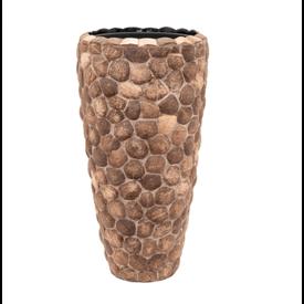 Fleur.nl -Baq Wood Out Piece 70 cm (+ inzetbak)