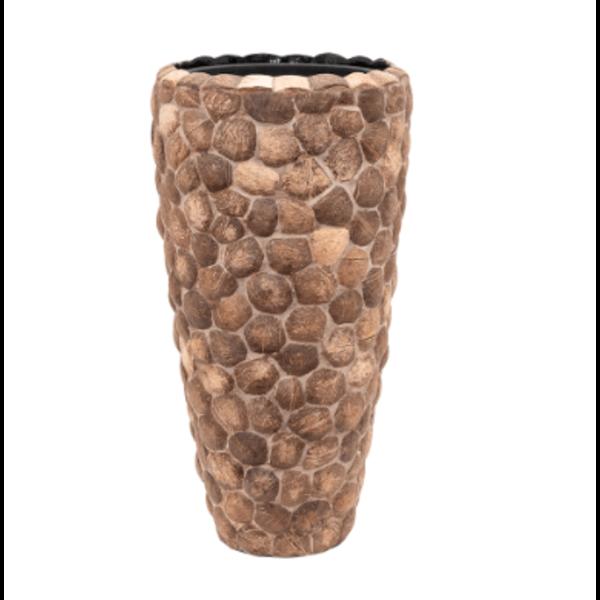 Baq Wood Out Piece 70 cm (+ inzetbak) - medium