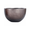 Metallic Silver Bowl Ø 45 cm (+ inzetbak) -medium