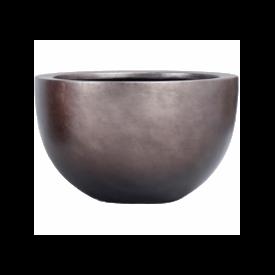 Fleur.nl -Baq Metallic Silver Bowl Ø 45 cm (+ inzetbak)