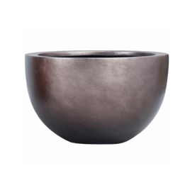Fleur.nl -Baq Metallic Silver Bowl Ø 45 cm