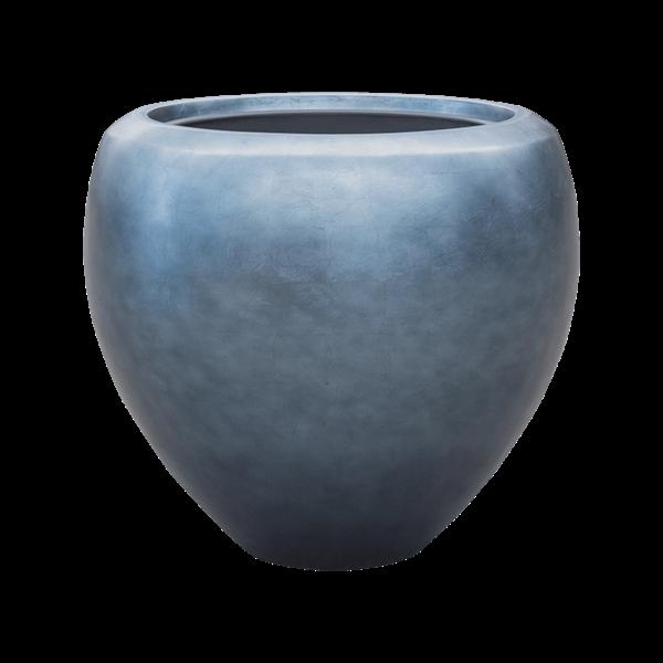 Baq Metallic Silver Couple Ø 50 cm (+ inzetbak) - medium