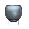 Metallic Silver Standard Ø 48 cm (+ inzetbak) - large