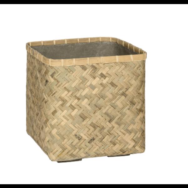 Pottery Pots Bohemian Bamboo 40 cm -medium