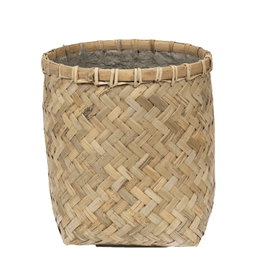 Fleur.nl -Pottery Pots Bohemian Bamboo Round Ø 31,5 cm