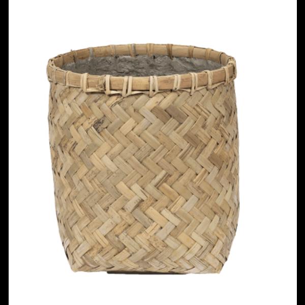 Pottery Pots Bohemian Bamboo Round Ø 31,5 cm