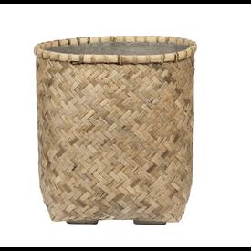 Fleur.nl -Pottery Pots Bohemian Bamboo Round Ø 48 cm