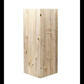 Fleur.nl - Marrone Wood High Cube 72 cm  (+ inzetbak)