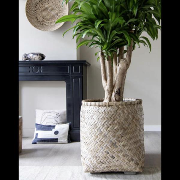 Pottery Pots Bohemian Bamboo Round Ø 46 cm
