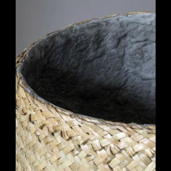 Pottery Pots Bohemian Bamboo Round Ø 37 cm