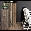 Marrone Wood High Cube 115 cm (+ inzetbak) -XL