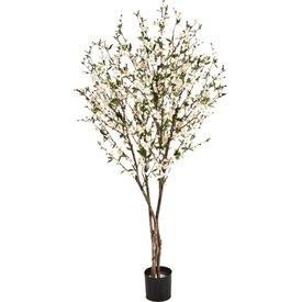 Fleur.nl - Cherry Blossom Cream vertakt Large- kunstplant