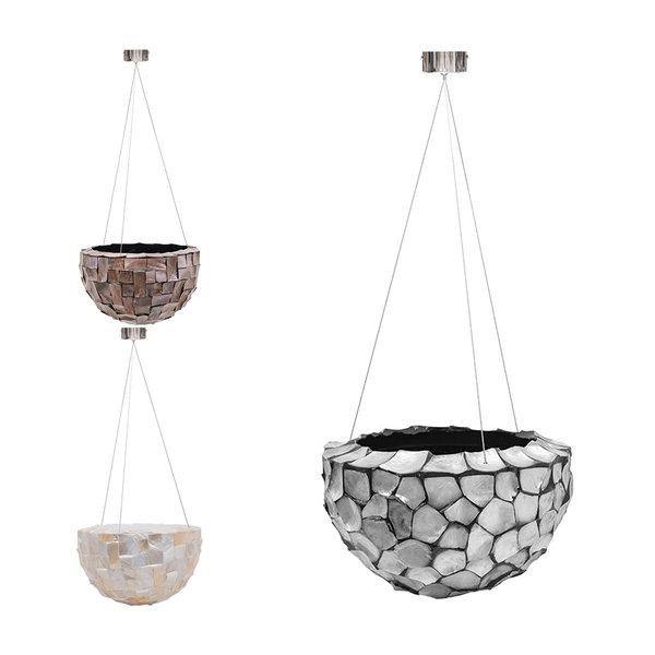 Oceana Pearl Hanging Bowl L