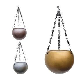 Fleur.nl - Metallic Hanging Globe M