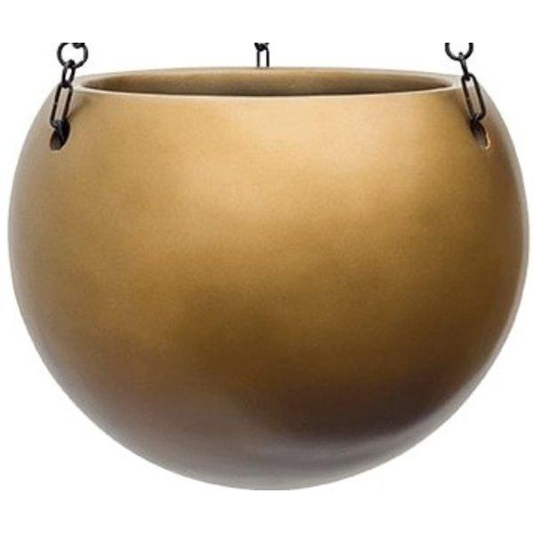 Metallic Hanging Globe M